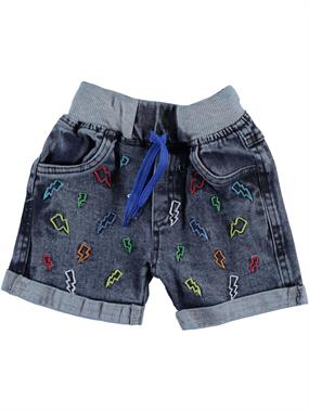 Civil Boys 2-5 Years Denim Blue Boy Shorts