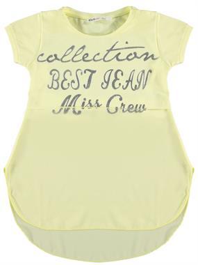 Civil Girls Girl Kids T-Shirt Age 6-9 Yellow