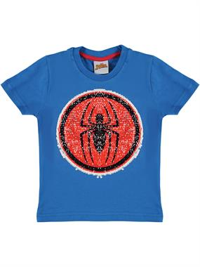 Spiderman Boy T-Shirt Ages 3-8 Blue
