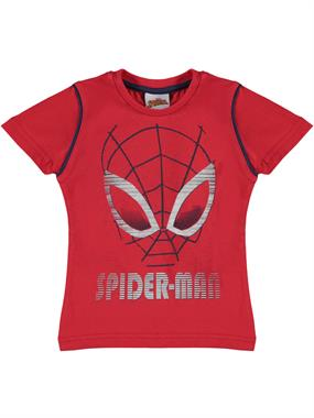 Spiderman Boy T-Shirt Ages 3-8 Red