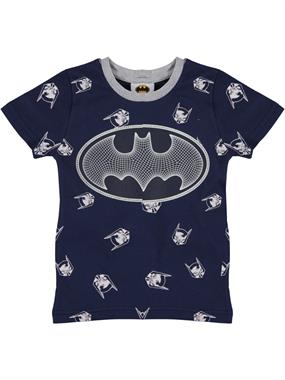 Batman Boy T-Shirt-Navy Blue Ages 3-8