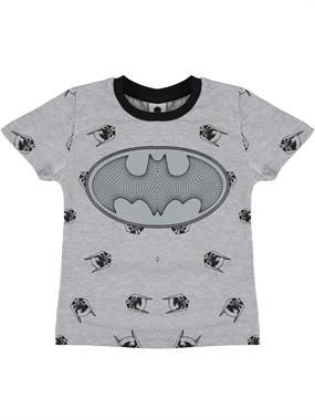 Batman Boy T-Shirt Ages 3-8 Gray