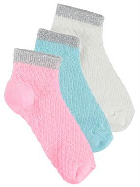 Civil Girls Girl 3-Sock Set Pink age 2-12