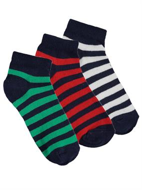 Civil Boys Boy 3-the ages of 2-12 Yesil Set of socks