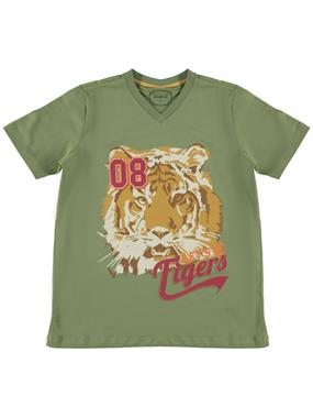 Civil Boys Cvl Boy T-Shirt Age 10-13, Khaki