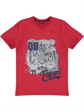 Civil Boys Cvl Boy T-Shirt Age 10-13 Red