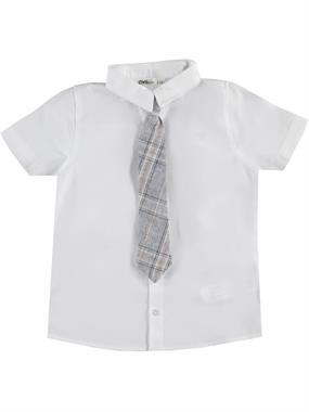 Civil Boys Boy Tie White Shirt With The Ages Of 6-9