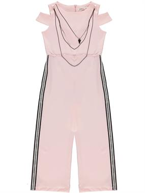 Civil Girls Necklace Powder Pink Jumpsuit Girl Age 10-13