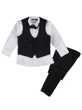 Civil Class Black Boy Suit Age 6-9