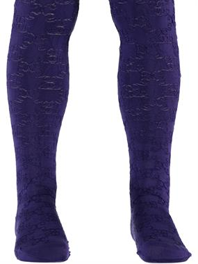 Bella Calze Purple Pantyhose Girl 2-11 Years