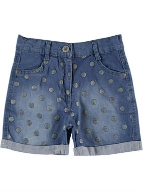 Civil Girls Girl's Blue Denim Shorts Age 6-9