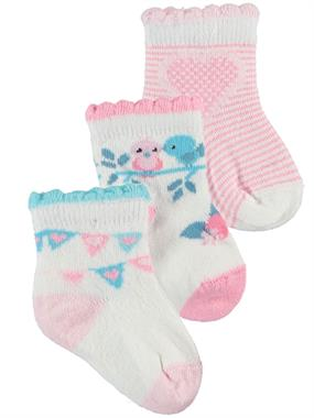 Katamino Baby girl 3-Ecru Set of socks 0-18 Months