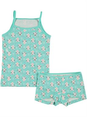 Civil Girls Mint Green Underwear Girl Child Aged 2-10 Team