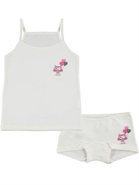 Civil Girls The Ages Of 2-10 Team Girl Child Underwear Ecru