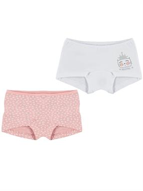 Civil Girls Girl 2-powder pink Boxer Set 2-10 Age