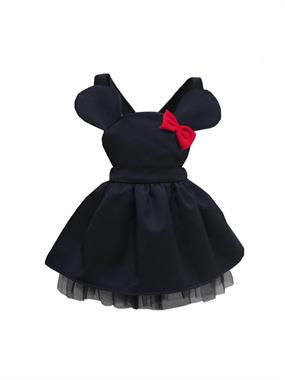Shecco Babba Black Mini Dress Girl Age 5-8