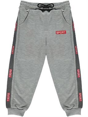 Civil Boys Gray Sweatpants Boy Age 6-9