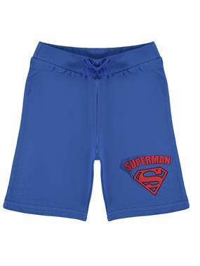 Superman Erkek Çocuk Kapri 3-8 Yaş Saks Mavisi