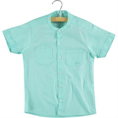 Civil Boys Age 6-9 Boy Shirt Mint Green