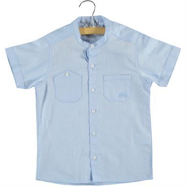 Civil Boys Age 6-9 Boy Blue Shirt