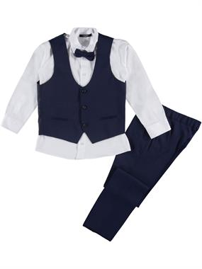 Civil Class Boy Navy Blue Suit Age 10-13