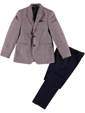 Civil Class Boy Burgundy Suit The Ages Of 10-13