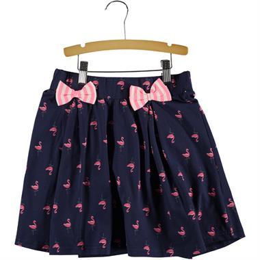 Cvl Navy Blue Skirt Girl Age 6-9