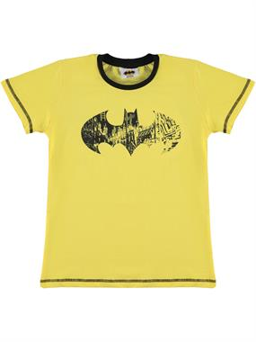 Batman Boy T-Shirt Ages 3-8 Yellow