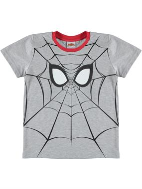 Spiderman Boy T-Shirt Ages 3-8 Gray