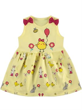 Kujju 6-18 Months Baby Girl Yellow Dress