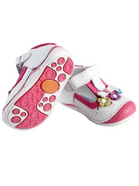 Baby Force White Skin Baby Girl First Step Shoes Number 18-21 (4)