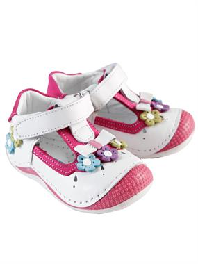 Baby Force White Skin Baby Girl First Step Shoes Number 18-21 (3)