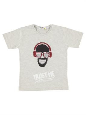 Mr.icon Mr. Boy Icon T-Shirt Yesil 9-12 Years