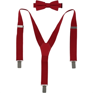 Civil 1-3 years of love and red bow tie set