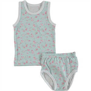 Civil Team Baby Girl 3-12 Months Yesil Combed Cotton Lingerie