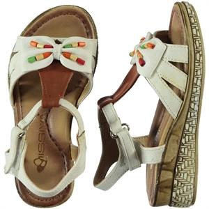 Missiva 26-30 Girl Sandals White Number