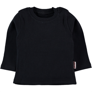 Gülücük Girl Black Kids Sweatshirt 1-5 Years