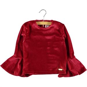Missiva Red Sweatshirt Kids Girl Age 6-9