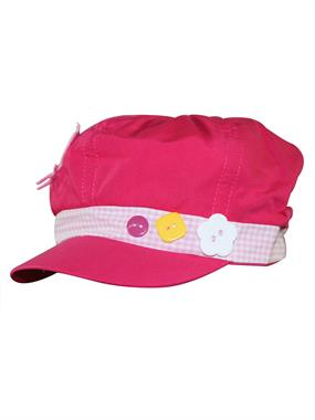 Tidi Fuchsia Hat Boy Girl Cap 6-12 Years