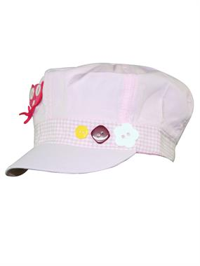Tidi White Hat Boy Girl Cap 6-12 Years