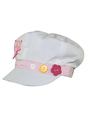 Tidi Pink Boy Girl Cap Hat 6-12 Years