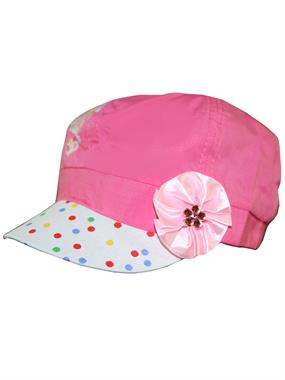 Tidi 3-7 Age Girl Boy Hat Cap Fuchsia