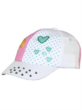 Tidi White Hat Boy Girl Cap 0-3