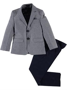 Civil Class Boy Navy Blue Suit 2-5 Years