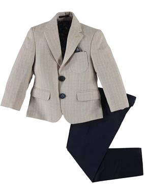 Civil Class Beige Boy Suit Age 2-5
