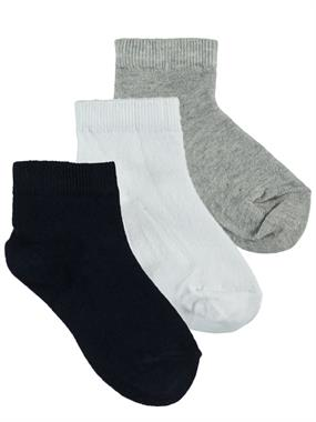 Civil Boys Boy 3-Set of socks navy blue age 3-13