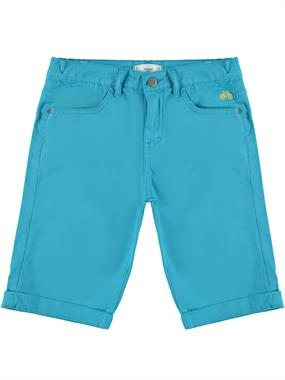 Civil Boys Linen, Pocket, Classic Turquoise Capri Age 10-13
