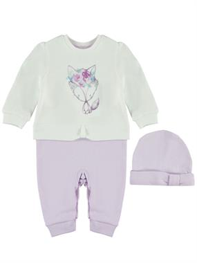 T.F.Taffy Lila Jumpsuit 0-9 Months Baby Girl Beanie