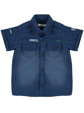 Civil Boys 2-5 Years Boy Shirt Indigo