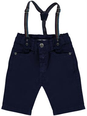 Civil Boys 2-5 Years Navy Blue Boy Shorts Suspenders